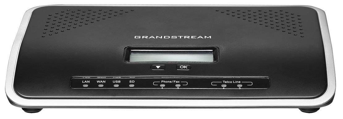 GRANDSTREAM UCM6202 - PABX IP COM 2 PORTAS FXS E COM 2 FXO