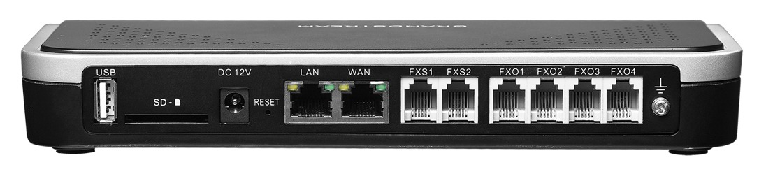 GRANDSTREAM UCM6204 - PABX IP COM 4 PORTAS FXS E COM 4 FXO