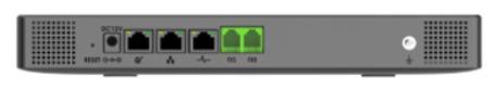 GRANDSTREAM UCM6301 - PABX IP COM 1 PORTA FXS E COM 1 FXO