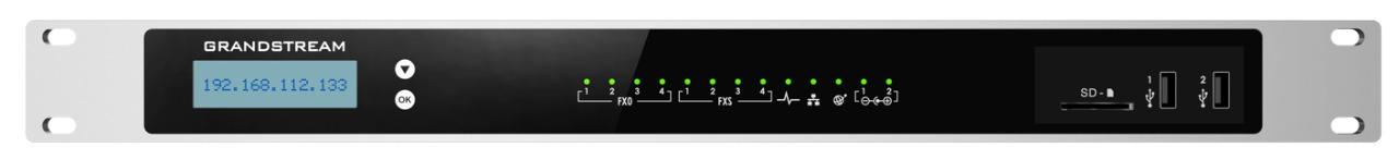 GRANDSTREAM UCM6304 - PABX IP COM 4 PORTA FXS E COM 4 FXO
