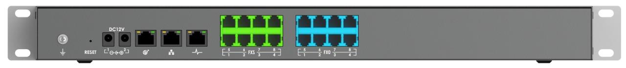 GRANDSTREAM UCM6308 - PABX IP COM 8 PORTA FXS E COM 8 FXO