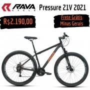 Rava Pressure 2021 21v Freio Disco Mecânico