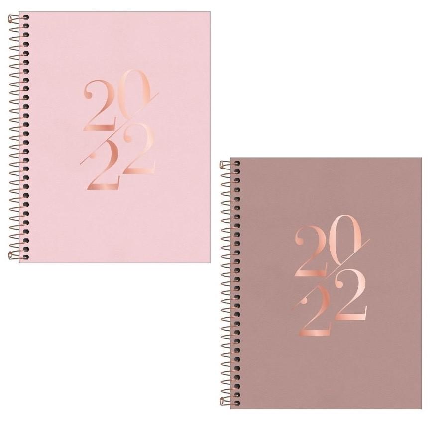 Agenda Espiral Vanilla 2022 Tilibra