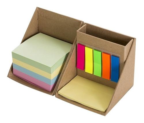 Bloco Adesivo de Anotações Cubo Kit