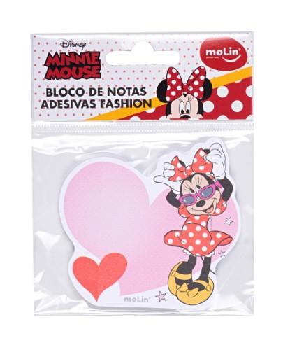 Bloco Adesivo Minnie Mouse Molin