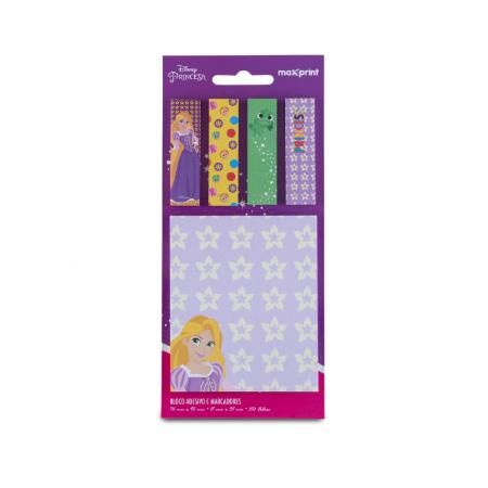 Bloco Adesivo Princesas Disney Kit Rapunzel Maxprint