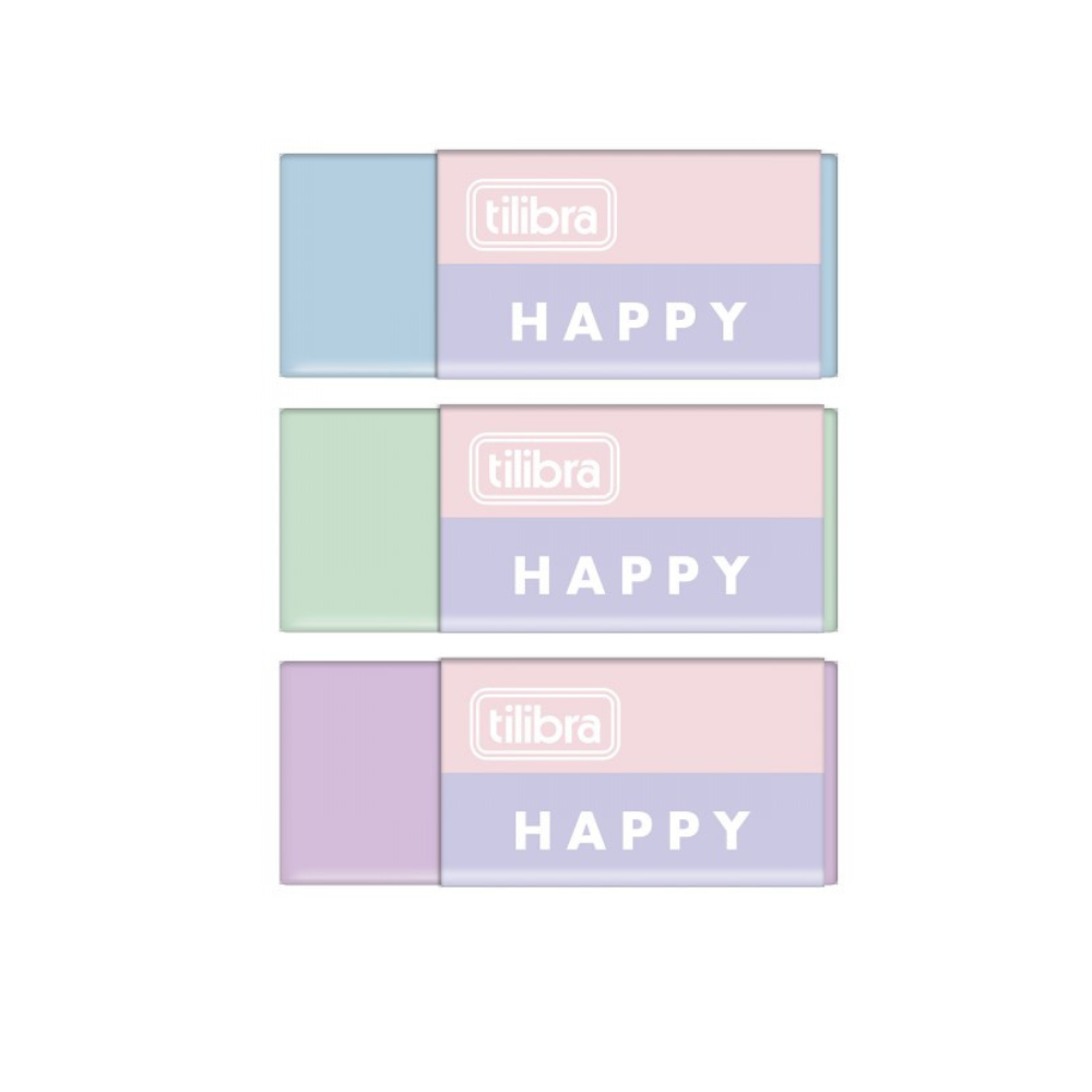 Borracha Happy Tilibra