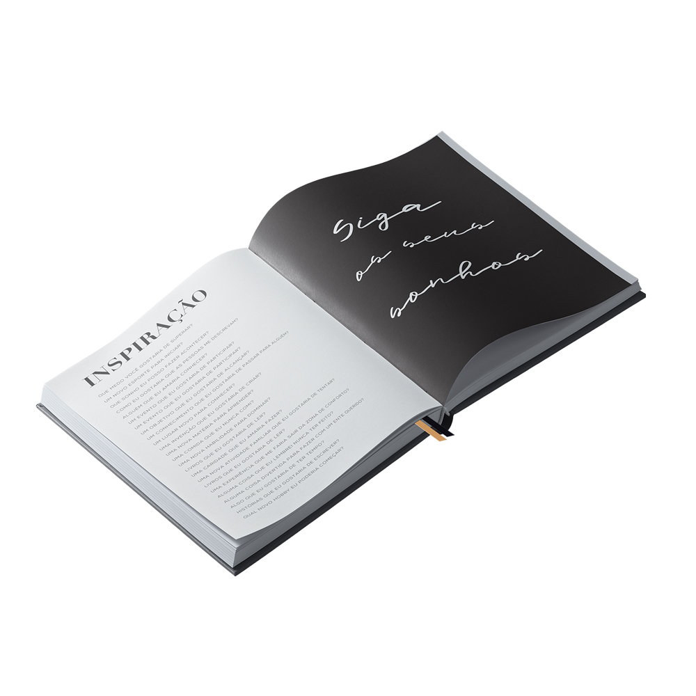 Livro de Anotações Bucket List Dac