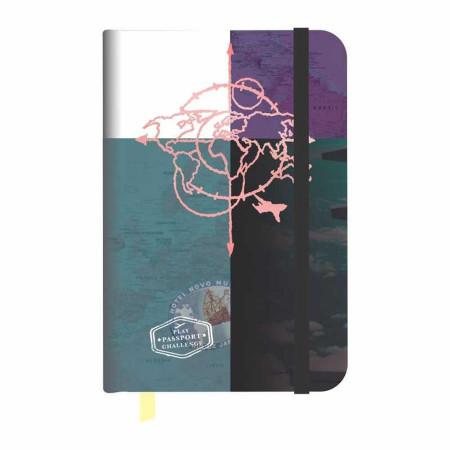 Caderneta de Anotação Viagem Redoma