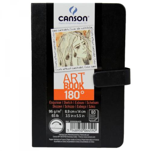 Caderno Artbook 180 Costurado A6 96g/m² Canson