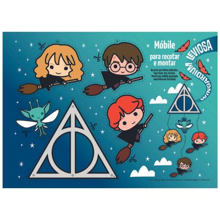 Caderno Cartografia e Desenho Espiral Harry Potter Jandaia