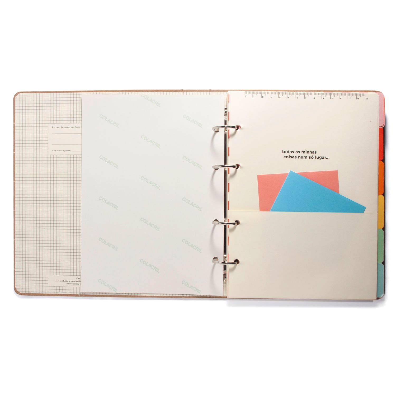 Caderno Criativo Argolado Todas Juntas Cícero