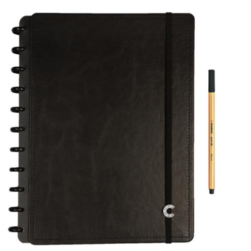 Caderno Inteligente Basic Black Grande