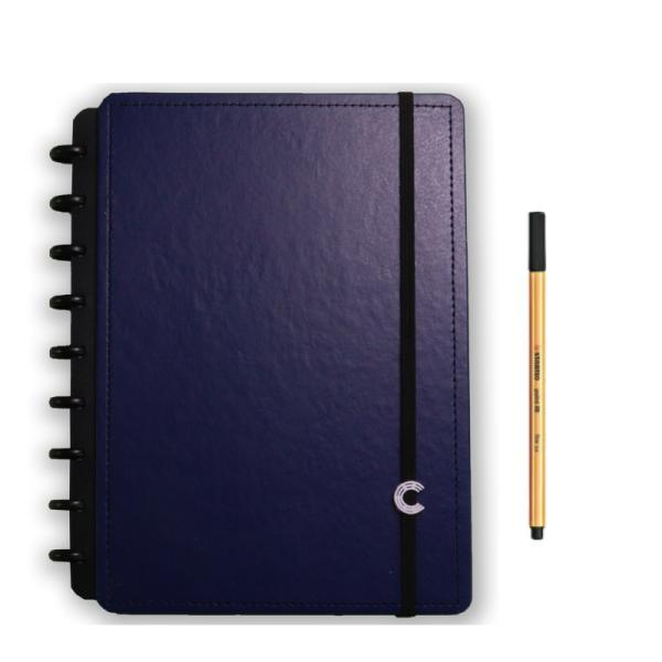 Caderno Inteligente Dark Blue Médio