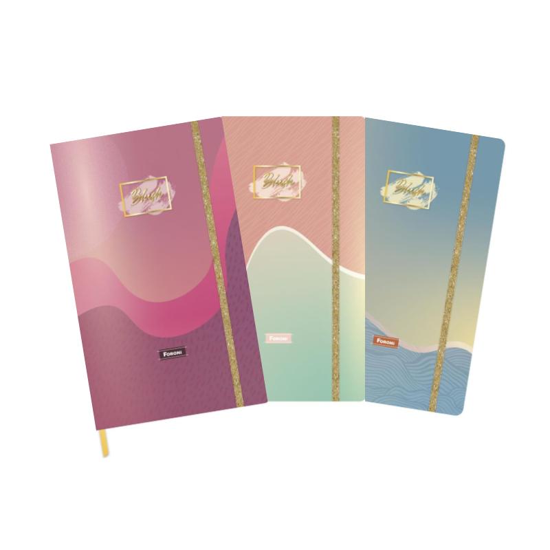 Caderno Pontilhado Blush Foroni