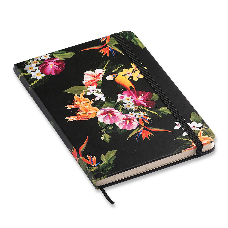 Caderno Pontilhado Tropical Cícero