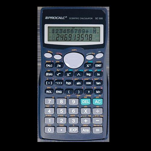 Calculadora Científica SC500 Procalc