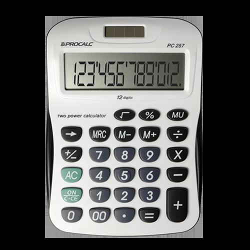 Calculadora de Mesa PC257 Procalc