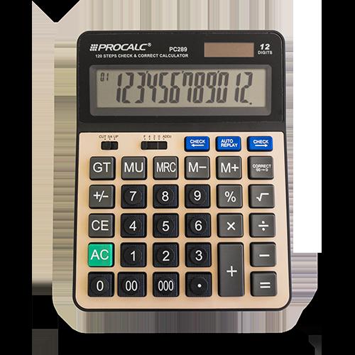 Calculadora de Mesa PC289 Procalc