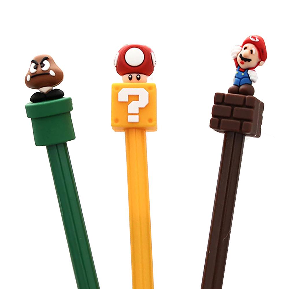 Caneta Divertida Super Mario Poop Store