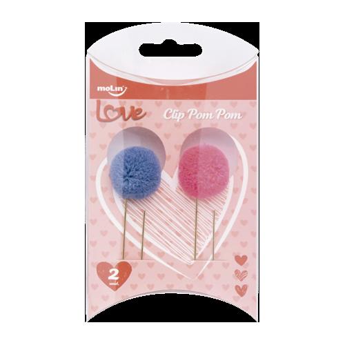 Clip Pom Pom Molin Love