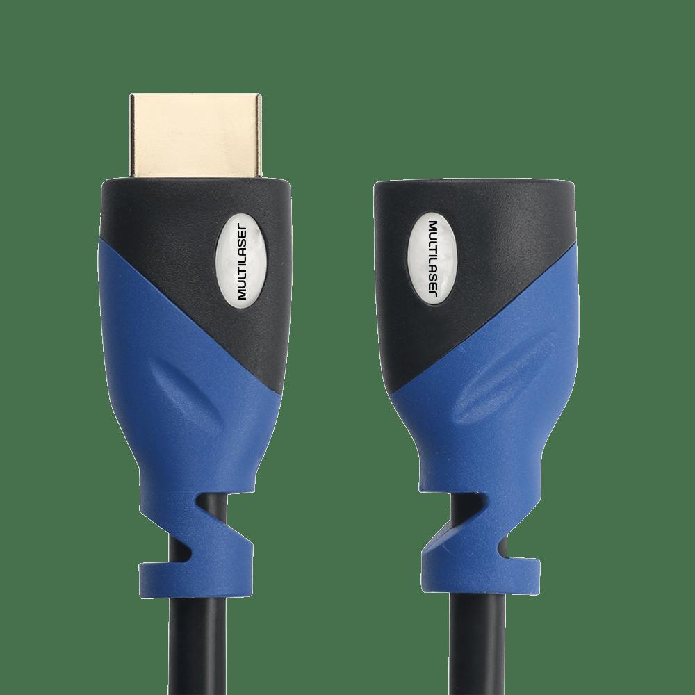Cabo Extensão HDMI 1.8m Multilaser