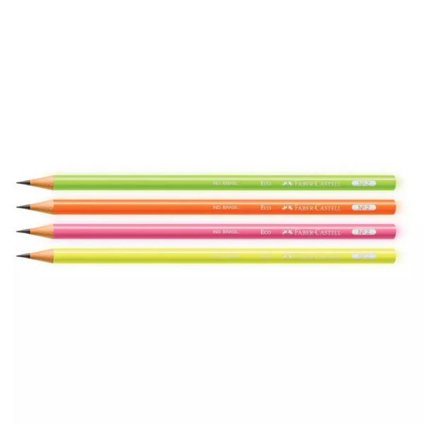 Lápis de Escrever Neon Faber-Castell