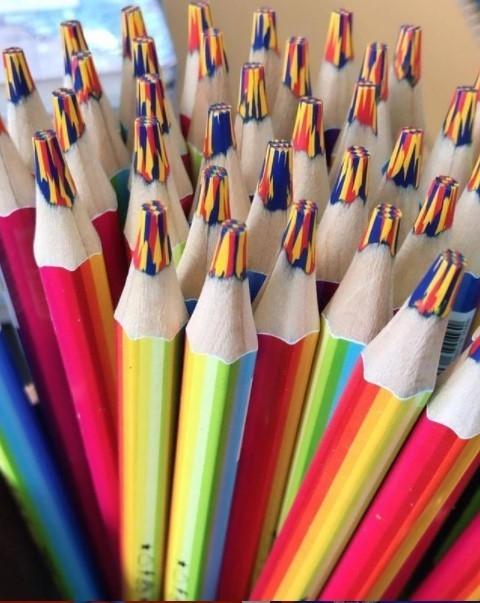 Lápis Rainbow Jumbo Tris