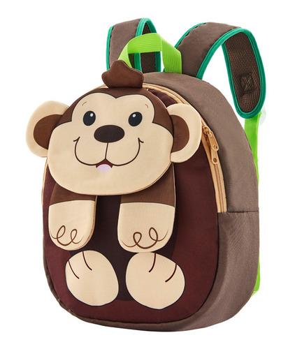 Mochila Infantil Macaco Fuseco