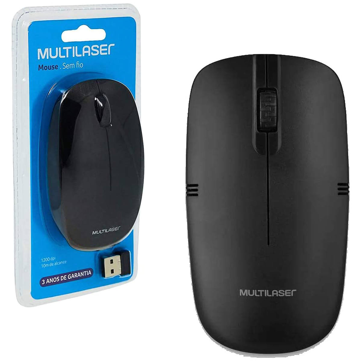 Mouse Sem Fio M0285 Multilaser