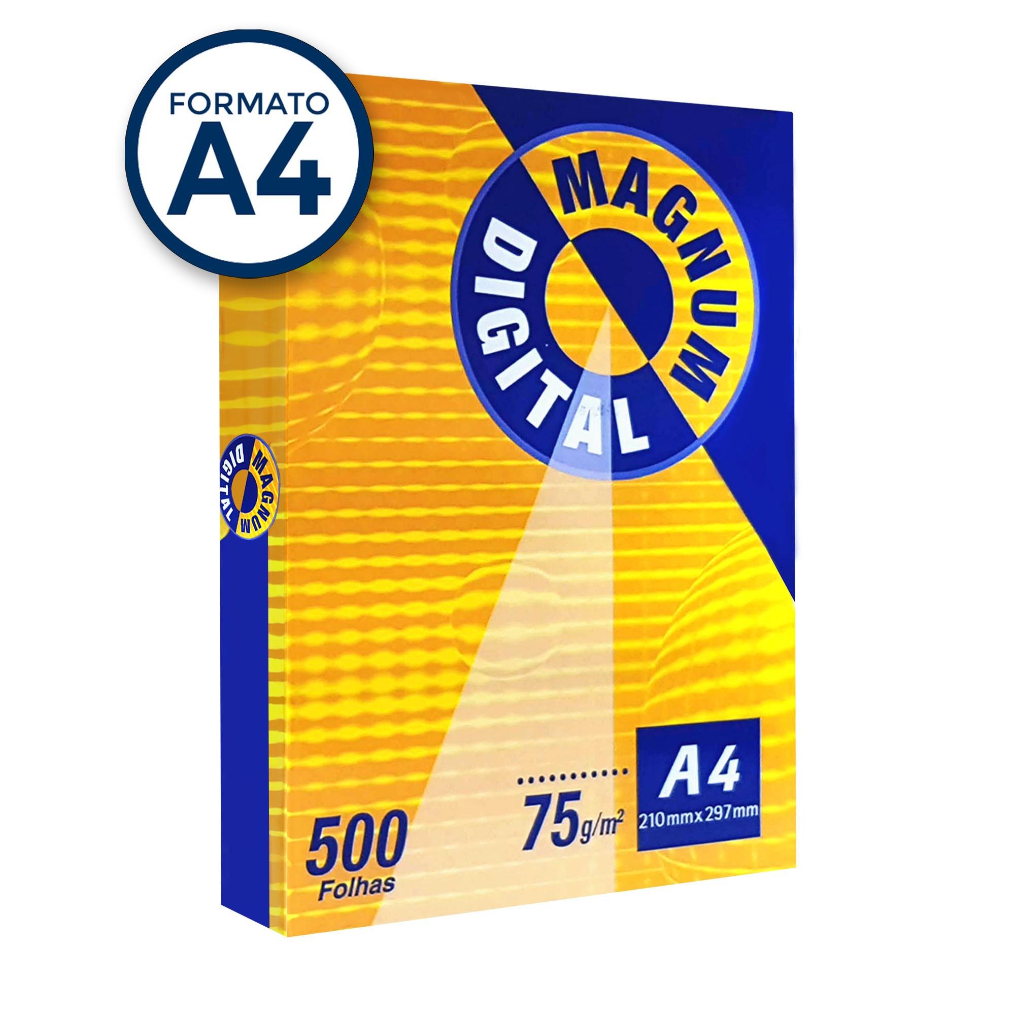 Papel Sulfite A4 500 Folhas Branco 75g Magnum