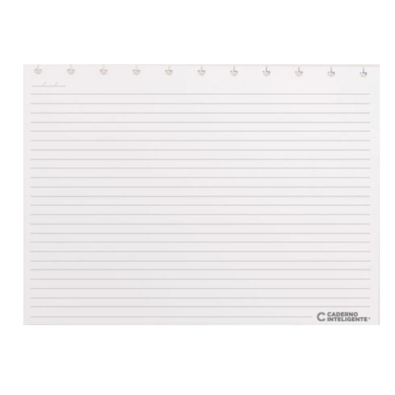 Refil Pautado Horizontal 120g Grande Caderno Inteligente