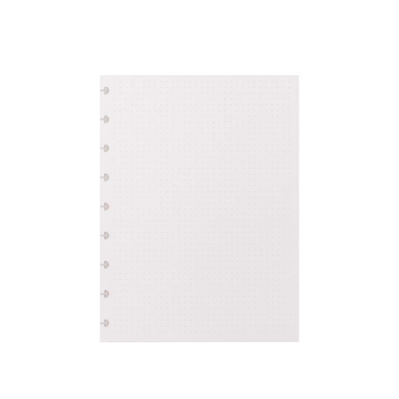 Refil Pontilhado 120g A5 Caderno Inteligente