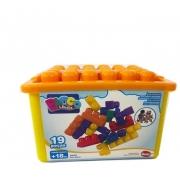 BOX BLOCK DISMAT MK 165 AMARELO LARANJA *