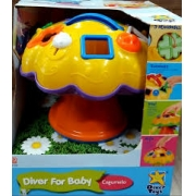 DIVER FOR BABY COGUMELO ROXO 697*