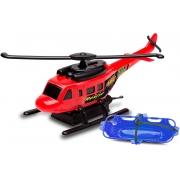 HELICOPTERO COM FRICCAO 94 VERMELHO*