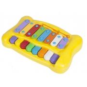 PIANO XILOFONE MUNDO MAGICO 6452 AMARELO*