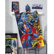TOALHA BANHO SUPER MAN*