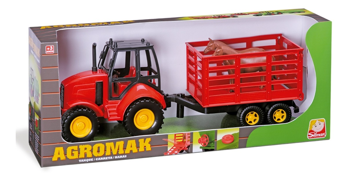 AGROMAK HARAS SILMAR VERMELHO 6850*