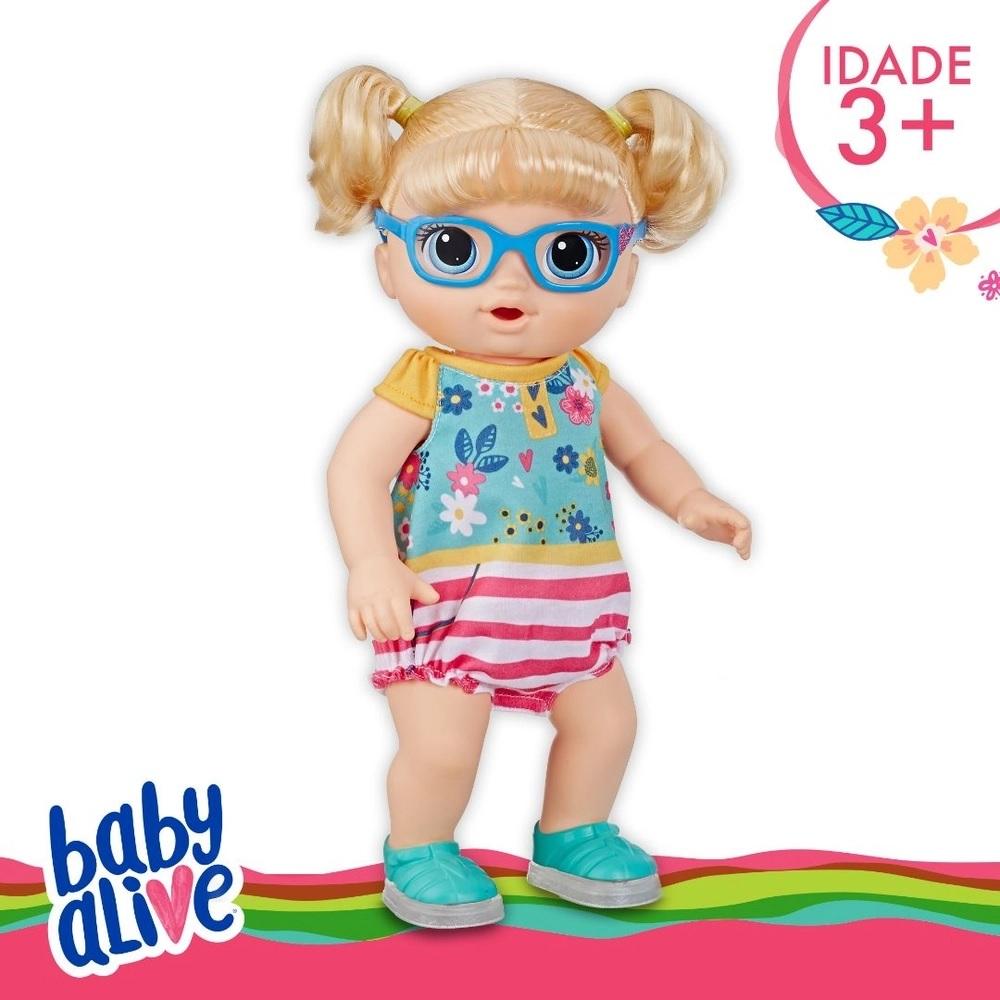 BABY ALIVE BEBE PASSOS E SORRISOS*