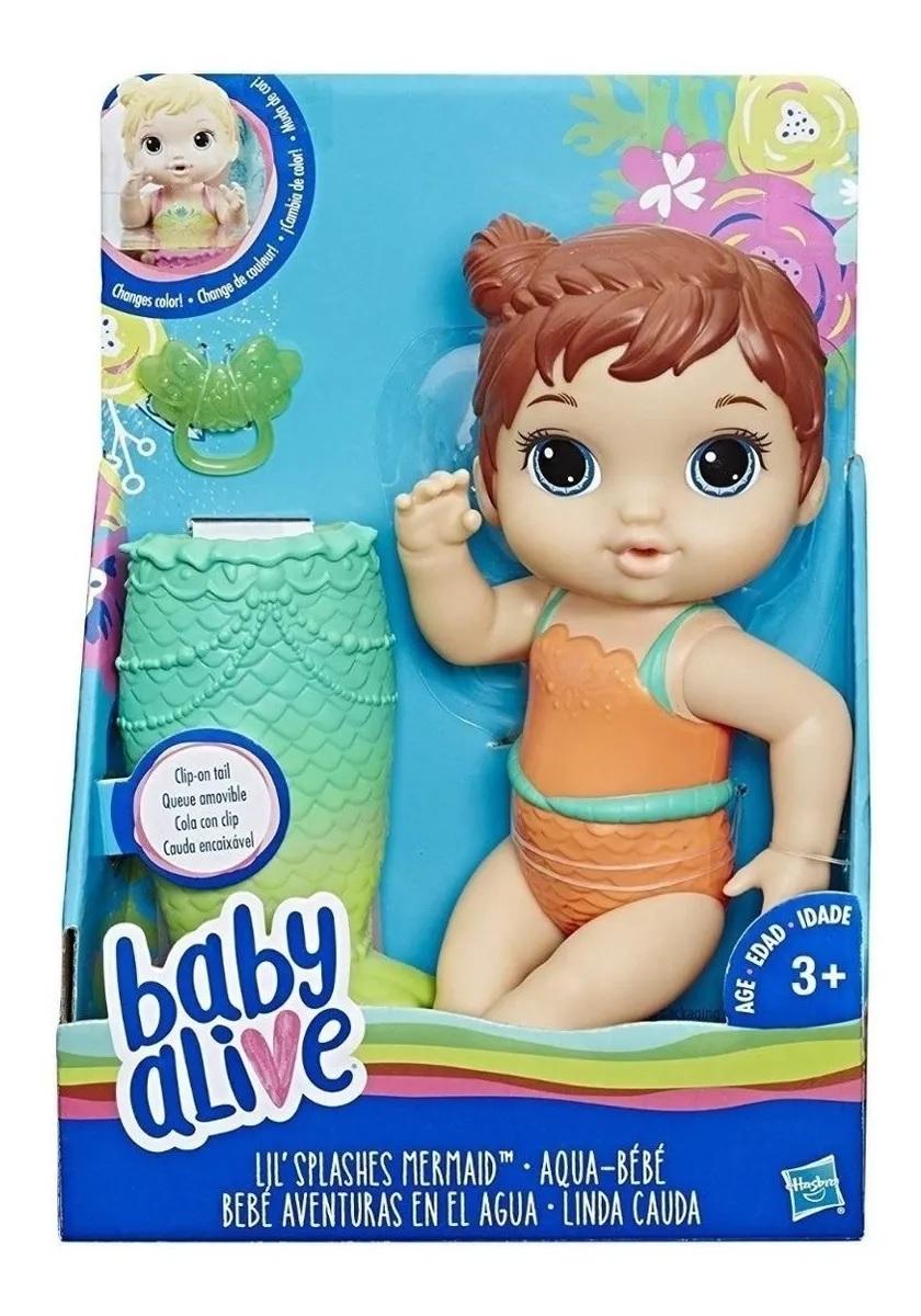 BABY ALIVE LINDA CALDA MORENA*