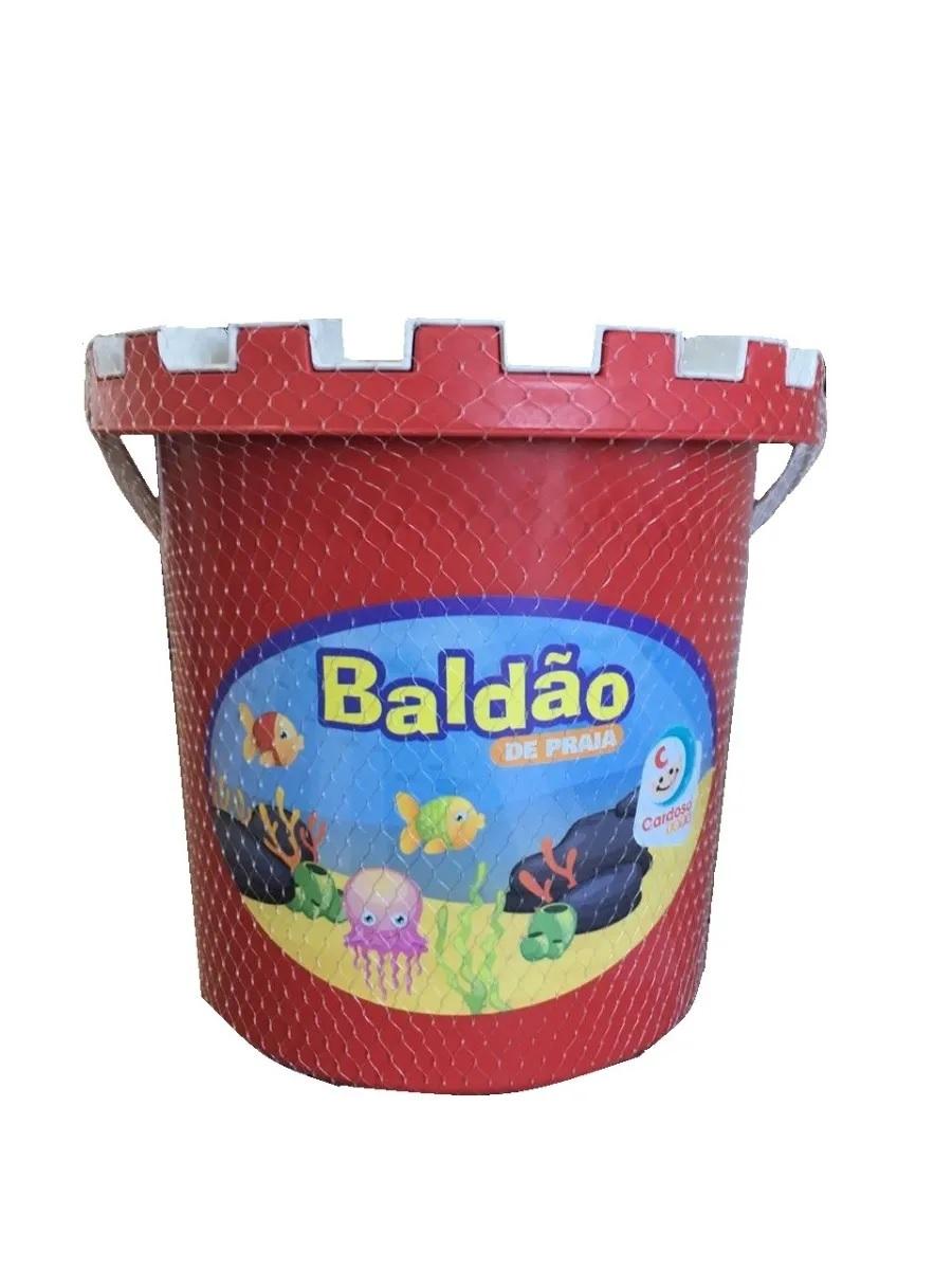 BALDAO PRAIA 0205 VERMELHO*