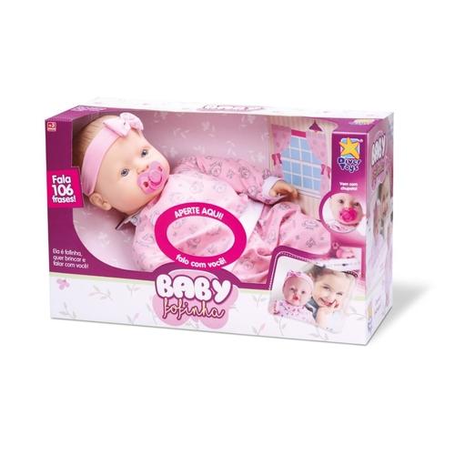 BONECA BABY FOFINHO AGASALHO 674*