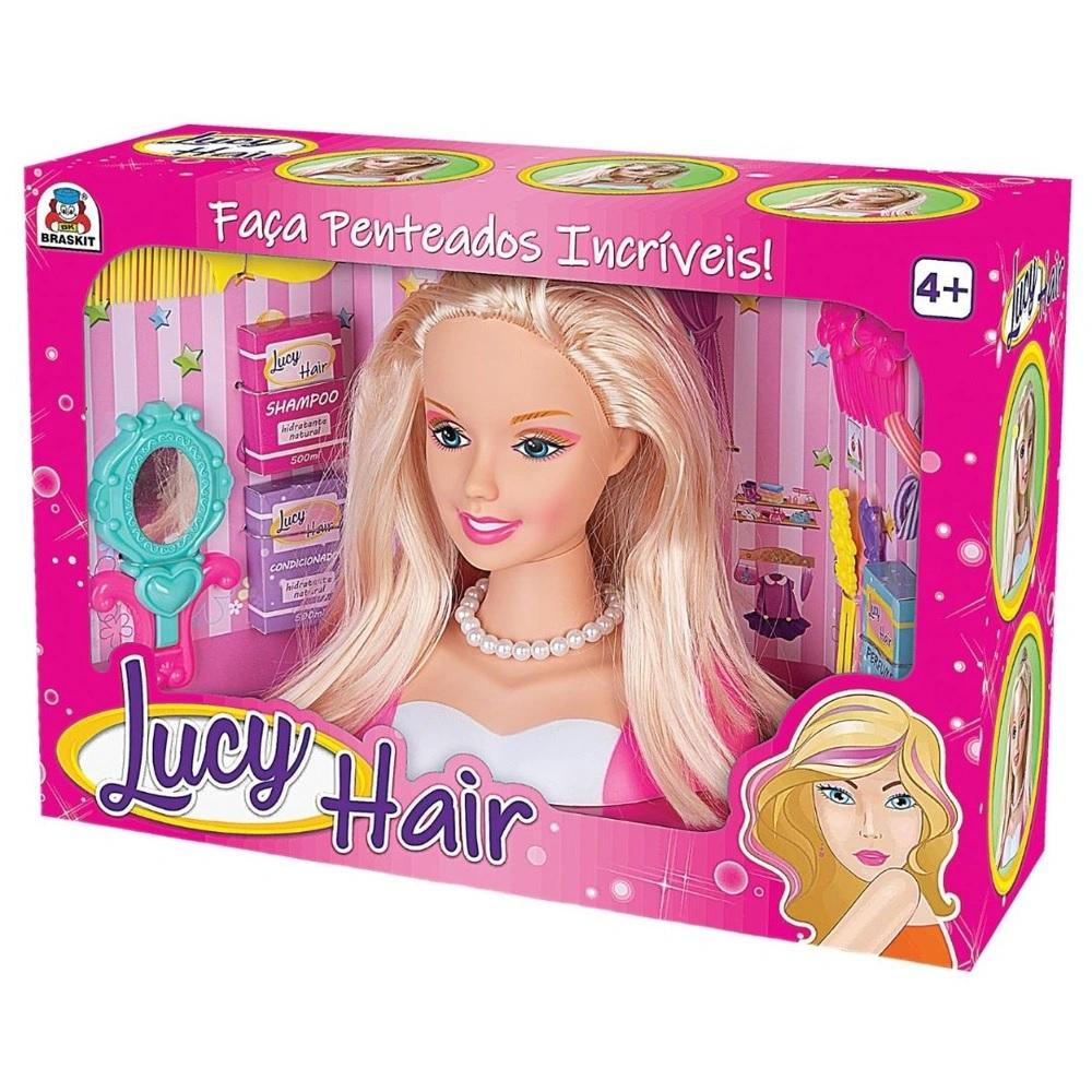 BONECA LUCY HAIR BRASKIT 6906 *