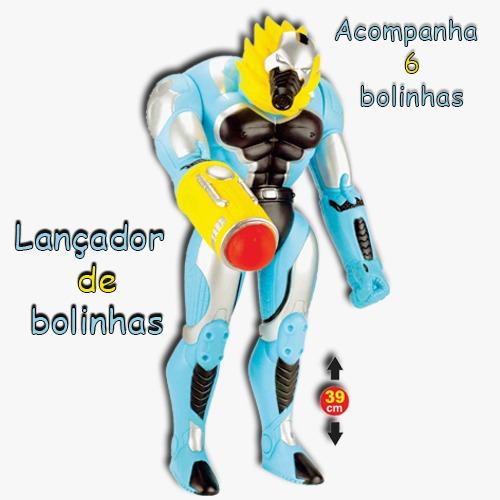 BONECO CYBORG POWER BALL AZUL ADIJ 831*