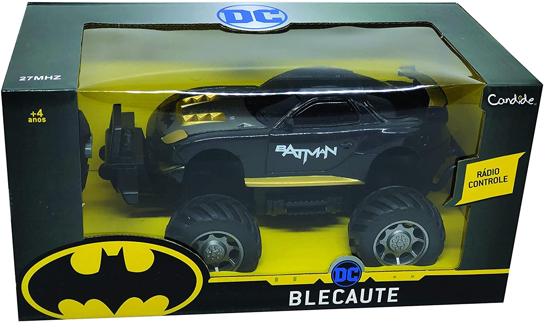 CARRO CONTROLE BLECAUTE BATMAN 3 FUNCOES 9620 *