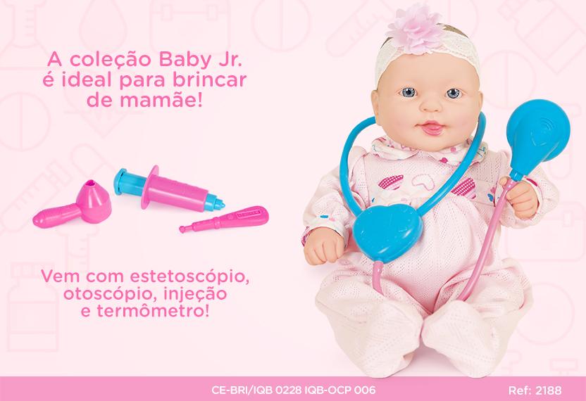 COLECAO BABY JR COTIPLAS DODOI 2188*
