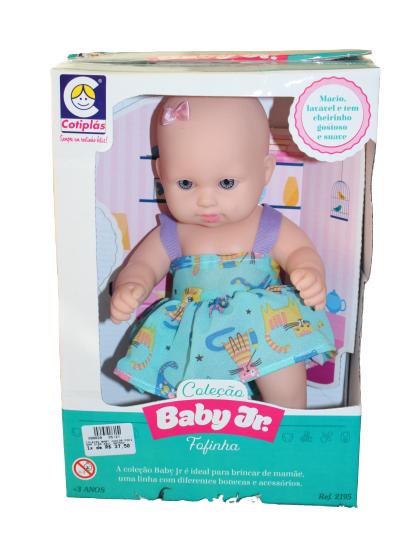 COLECAO BABY JUNIOR FOFINHA 2195 AZUL GATOS*