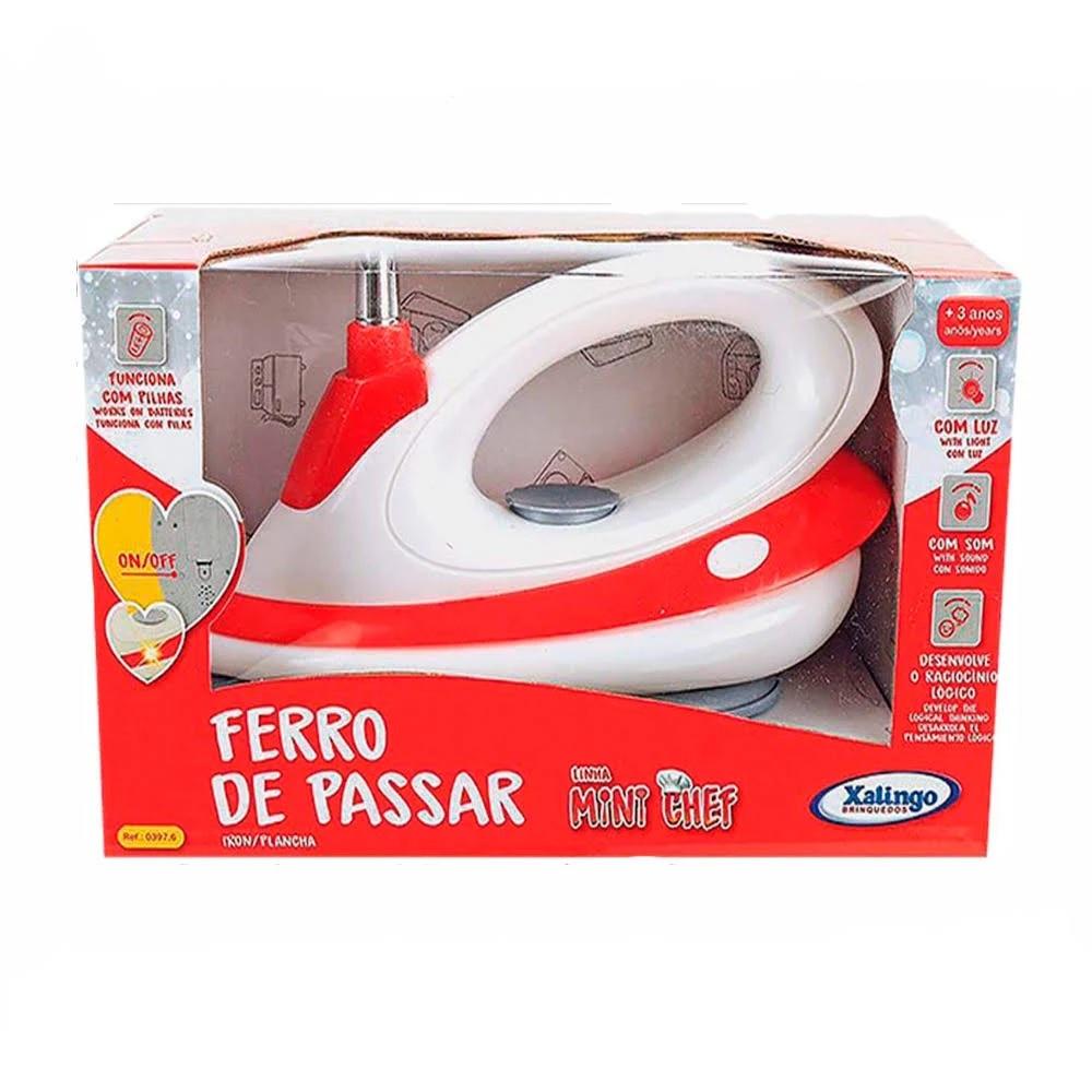 FERRO DE PASSAR MINI CHEF XALINGO 3976 *