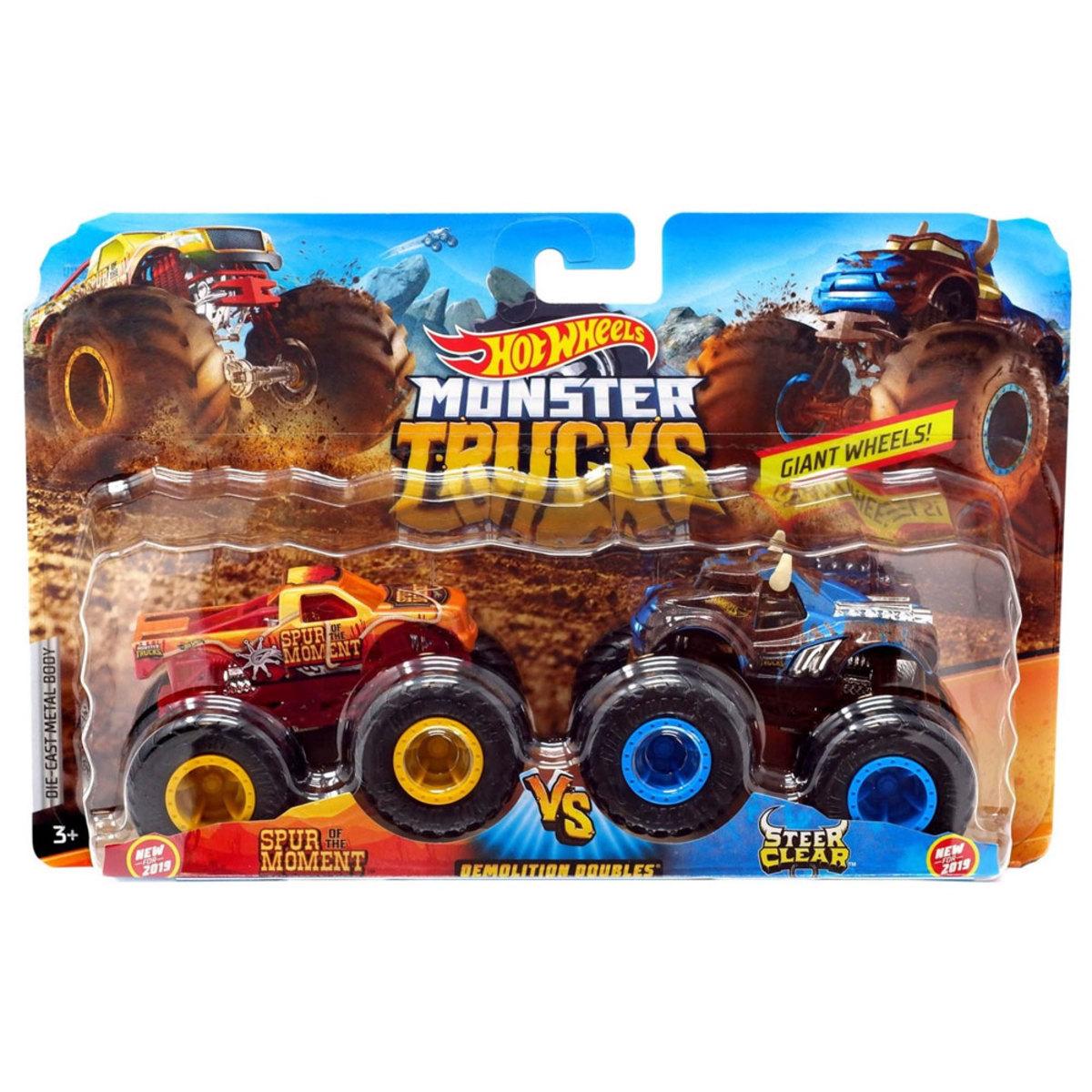 HOT  WHEELS  MONSTER  TRUCKS SPUR MOMENT X STEER CLEAR  R/T- Mattel*